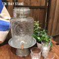 キッチン用品 ティントレイスタンド トレイ トレー お盆 サーバースタンド スタンド