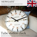 Tube station clock TR-4286  アートワークスタジオ