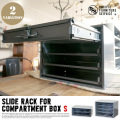 SLIDE RACK FOR COMPARTMENT BOX S  全2タイプ