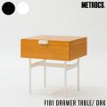 テーブル ドロワーテーブル オーク 机 サイドテーブル サイドボード