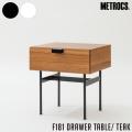 テーブル ドロワーテーブル チーク 机 サイドテーブル サイドボード