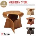 マッシュルームスツール(Mushroom stool) 天童木工(Tendo mokko)