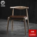 チェア CH20 エルボーチェア オーク レザー イス ダイニングチェア 椅子