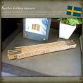 スウェーデン フォールディングメジャー 長さ2M EE433NN デッドストック