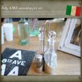 イタリア A.M.I. シーズニングポットセット EE311NN デッドストック