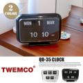 クロック CLOCK QD-35 置き時計 トゥエンコ TWEMCO