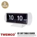 クロック CLOCK QT-30T 置き時計 トゥエンコ TWEMCO