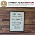 LOCO MOTIVE DRAWING(ロコモティブドローイング) 鉄道図面 NO.16082281