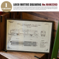 LOCO MOTIVE DRAWING(ロコモティブドローイング) 鉄道図面 NO.16082283