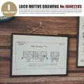 LOCO MOTIVE DRAWING(ロコモティブドローイング) 鉄道図面 NO.16082285