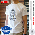 バズリクソンズ T-SHIRT PHANTOM PHLYER BR77033 WHITE