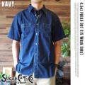 SUGAR CANE 4.5ozポルカドットワークシャツ 4サイズ 送料無料