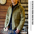 COTTON/NYLON PADDING MOUNTAIN PARKA S.GREEN