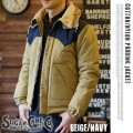 COTTON/NYLON PADDING JACKET BEIGE
