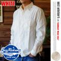 BUZZ RICKSON'S ホワイトシャンブレーロングスリーブワークシャツ