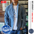 BUZZ RICKSON'S ブルーシャンブレーロングスリーブワークシャツ
