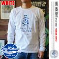 BUZZ RICKSON'S ファントムフライヤーズロングスリーブシャツ ホワイト