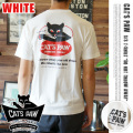 cats paw s/s tee 「DO NOT」WHITE 2サイズ