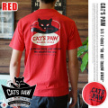 cats paw s/s tee 「DO NOT」RED 2サイズ