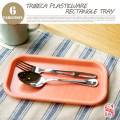 トライベッカ プラスチックウェア レタングルトレー S TRIBECA PLASTICWARE Rectangle Tray S TTT00931 テーブルウェア