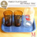 トライベッカ プラスチックウェア レタングルトレー M TRIBECA PLASTICWARE Rectangle Tray M TTT00921 テーブルウェア