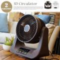 室温表示付き 3Dサーキュレーター 扇風機 EFT-1613・EFT-1614