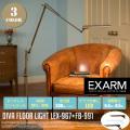 ディーバ フロアライト DIVA FLOOR LIGHT LEX-967+FB-991 フロアスタンド エクザーム EXARM