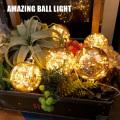 照明 電球 イルミネーションライト ライト ボールライト LED ガーランド