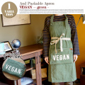 AND PACKABLE APRON(アンドパッカブルエプロン) ビーガングリーン