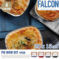 FALCON PIE DISH 4set