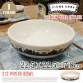 Fishs Eddy 212 Pasta Bowl