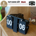 フリップクロックルフトブラック FLIP CLOCK LUFT BLACK SLW-018 置き時計