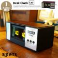 DESK CLOCK Bradham LED(デスククロックブラハム)  SLW128 置時計 卓上