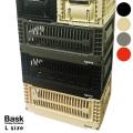 収納 バスク フォールディングコンテナ ラージ 収納ボックス 折り畳みボックス