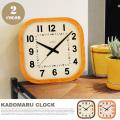 掛け時計 シャンブル カドマルクロック CHAMBRE KADOMARU CLOCK CH-032