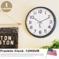 掛け時計 フランクリンクロック Franklin Clock 12BLQ インターゼロ