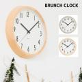 壁掛け時計ブランチ クロックウォールクロック 時計 かけ時計 電波時計