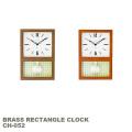 掛け時計 グラスペンデュラムクロック  ウォールクロック 時計 掛置き兼用時計 ステップセコンド