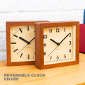掛置き兼用時計 リバーシブルクロック 掛け時計 置時計
