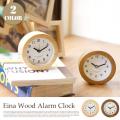 アイナ アラームクロック Eina Wood Alarm Clock EIN-100-NA 置き時計