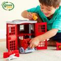 消防車 消防署 おもちゃ 子供 キッズ ファイヤーステーション グリーントイズ