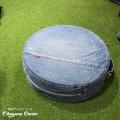 岡山デニム OKAYAMA DENIM ロースツール デニム サークル スツール 円形クッション