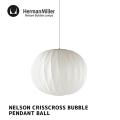 照明 ネルソン クリスクロス バブル ペンダント ボール ペンダントライト 天井照明