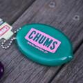 CHUMS Logo Quikoin with Ball Chain チャムスロゴ 財布