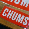 Sticker CHUMS Logo Small ステッカーチャムスロゴスモール シール