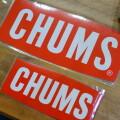 Sticker CHUMS Logo Medium ステッカーチャムスロゴミディアム シール
