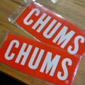 Sticker CHUMS Logo Large ステッカーチャムスロゴラージ シール