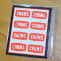 Sticker CHUMS Logo Mini ステッカーチャムスロゴミニ シール