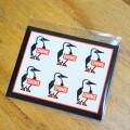 Sticker Booby Bird Mini ステッカーブービーバードミニ シール