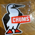 CHUMS Sticker Big Booby Bird チャムスステッカービッグブービーバード